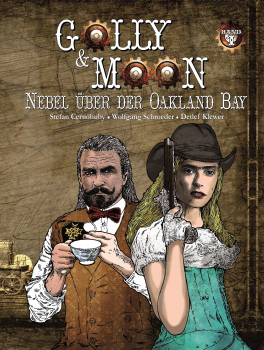 Comic: Nebel über der Oakland Bay (Golly & Moon #1)